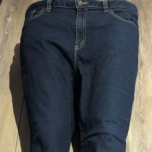IZZY CROPPED MICHAEL KOR JEANS SIZE 10 NWOT